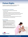 Patient Right Brochure thumbnail